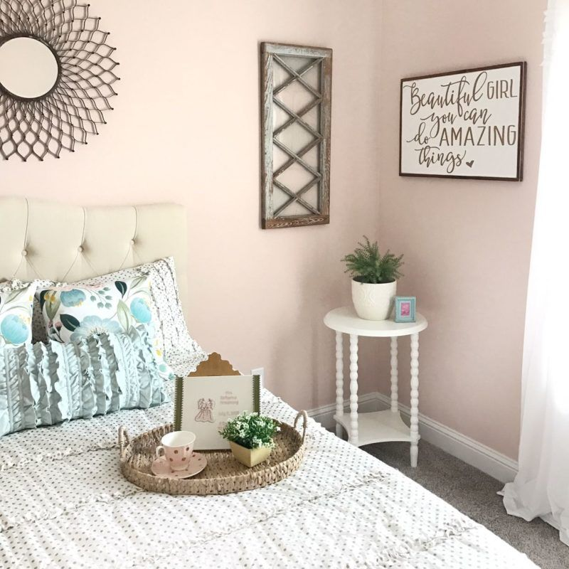 Baby Bedroom Paint Ideas Bedroom Lighting Decoration Vintage Room Design Bedroom Master Bedroom Bed Size: Magnolia Home Paint In Ella Rose