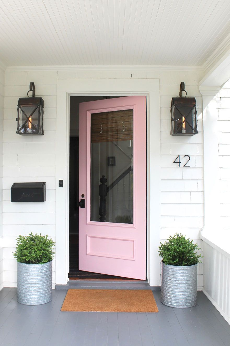 We Loved Our Pink Door Guess What Color It Is Now Go See