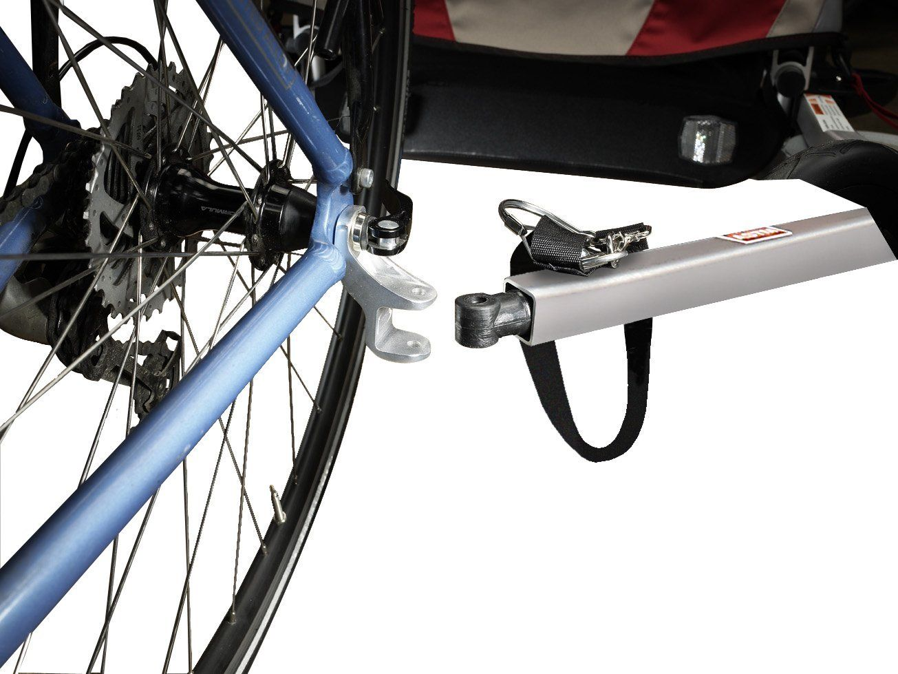 Burley Bicycle Trailer Hitch ($21.99) | bike -- trailer | Pinterest ...