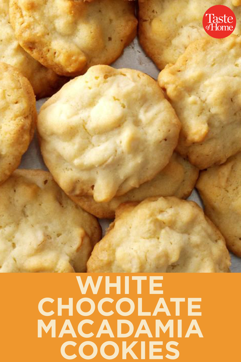White Chocolate Macadamia Cookies - #Chocolate #Cookies #Macadamia #white #nikolausbacken
