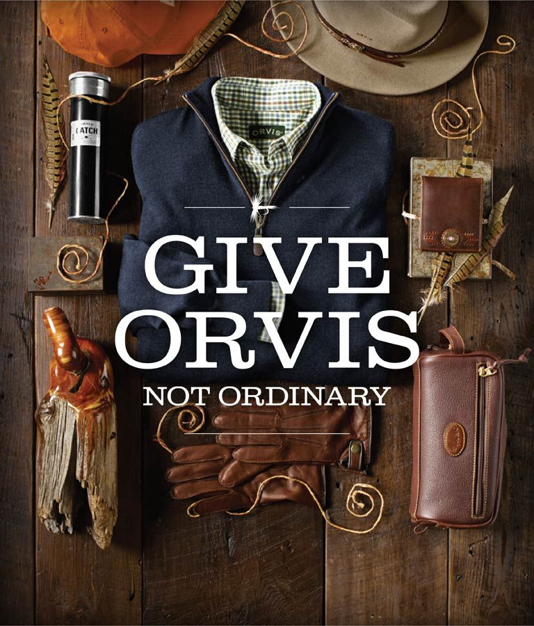 Give orvis not ordinary shop gifts for men fly