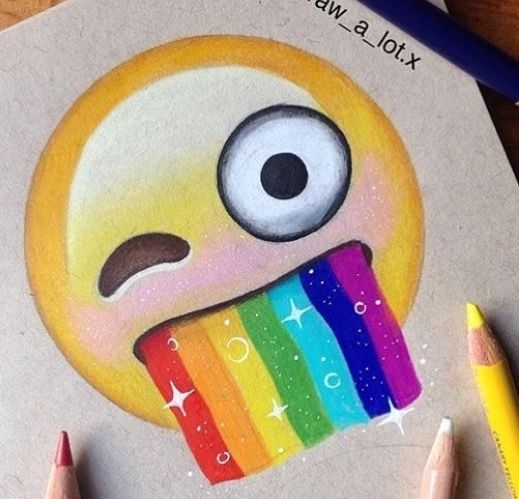 how to draw the unicorn emoji