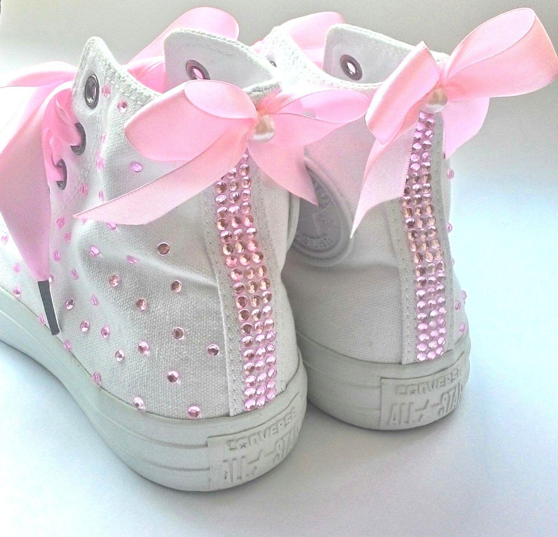 Converse wedding shoes converse bridal shoes rhinestone
