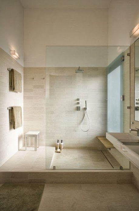 30 luxury shower designs demonstrating latest trends in modern bathrooms - Luxury Open Showers
