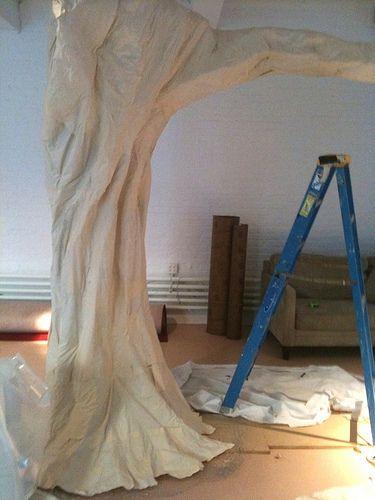 Custom Tree Props Nyc Window Concepts Pinterest