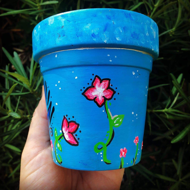 Loving Bird Flower Pot Small Flower Pots Flower Pots Pink Flowers