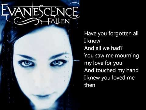 Evanescence - Taking Over Me lyrics - YouTube | Music | Me