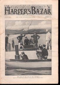 Harper's Bazar September 16 1899
