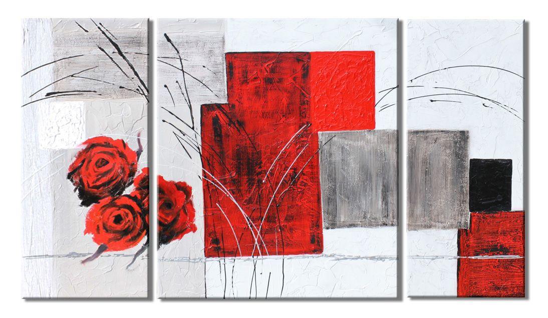 Quadri astratti dipinti a mano materici artigianali Made in Italy ...