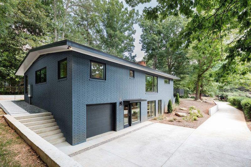 Best This Mid-Century Modern House In North Carolina Received A Fresh  LD15