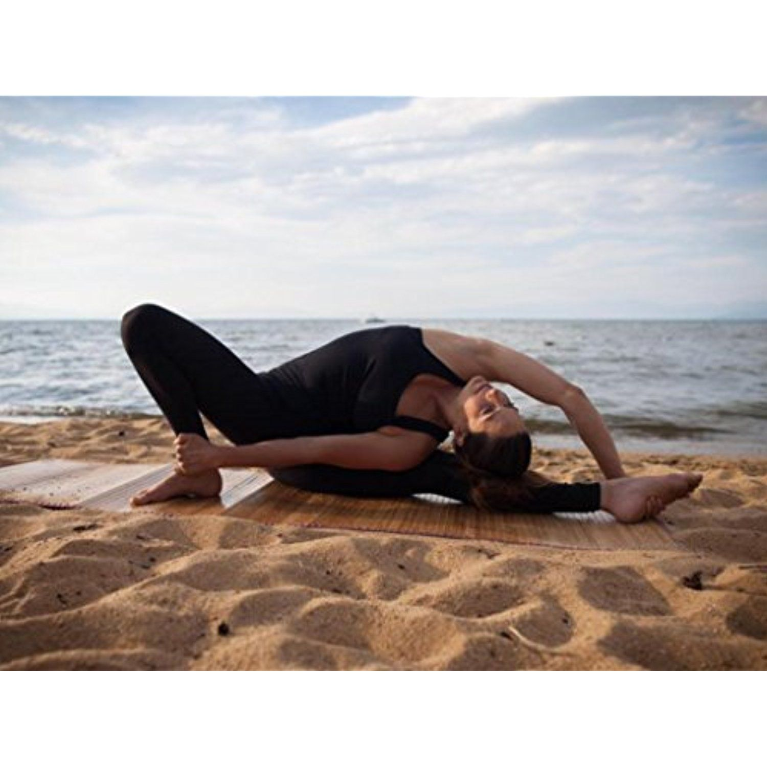 Hanuman Beach Bamboo Yoga Mat / Lounge Chair    You Can Find Out More  Details