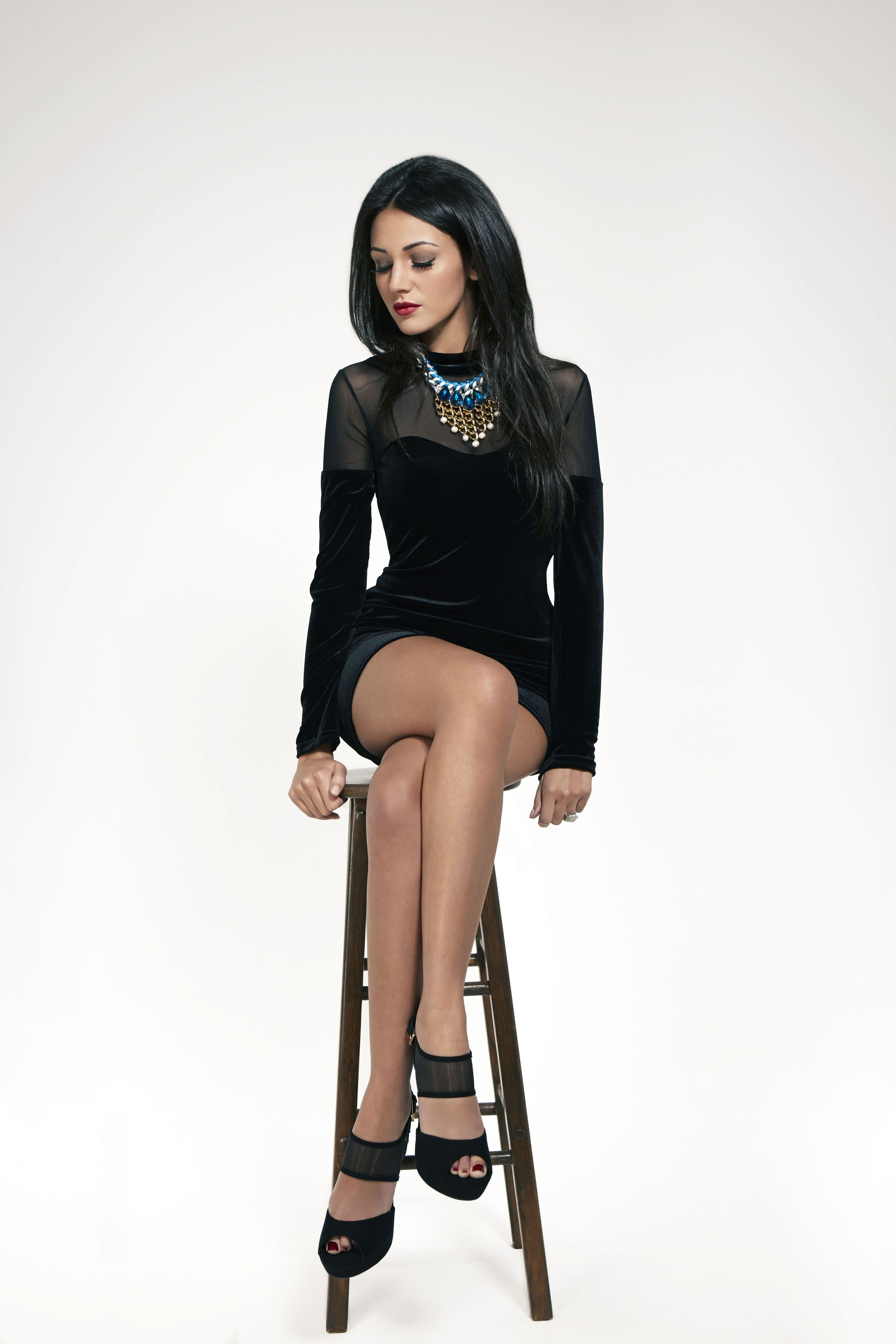 c3323a58dc88 Michelle Keegan in The Sun TV Magazine 2014
