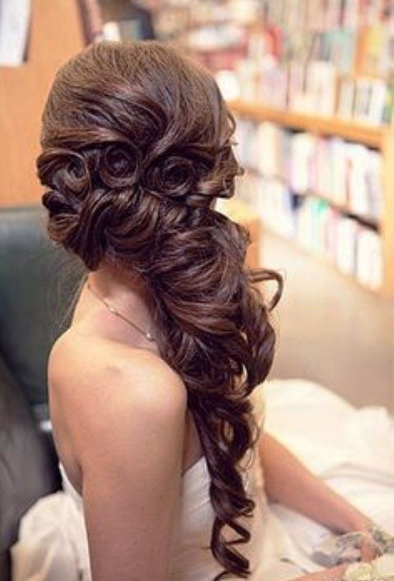 Astonishing 1000 Images About Wedding Hair On Pinterest Andy Lecompte Hairstyle Inspiration Daily Dogsangcom