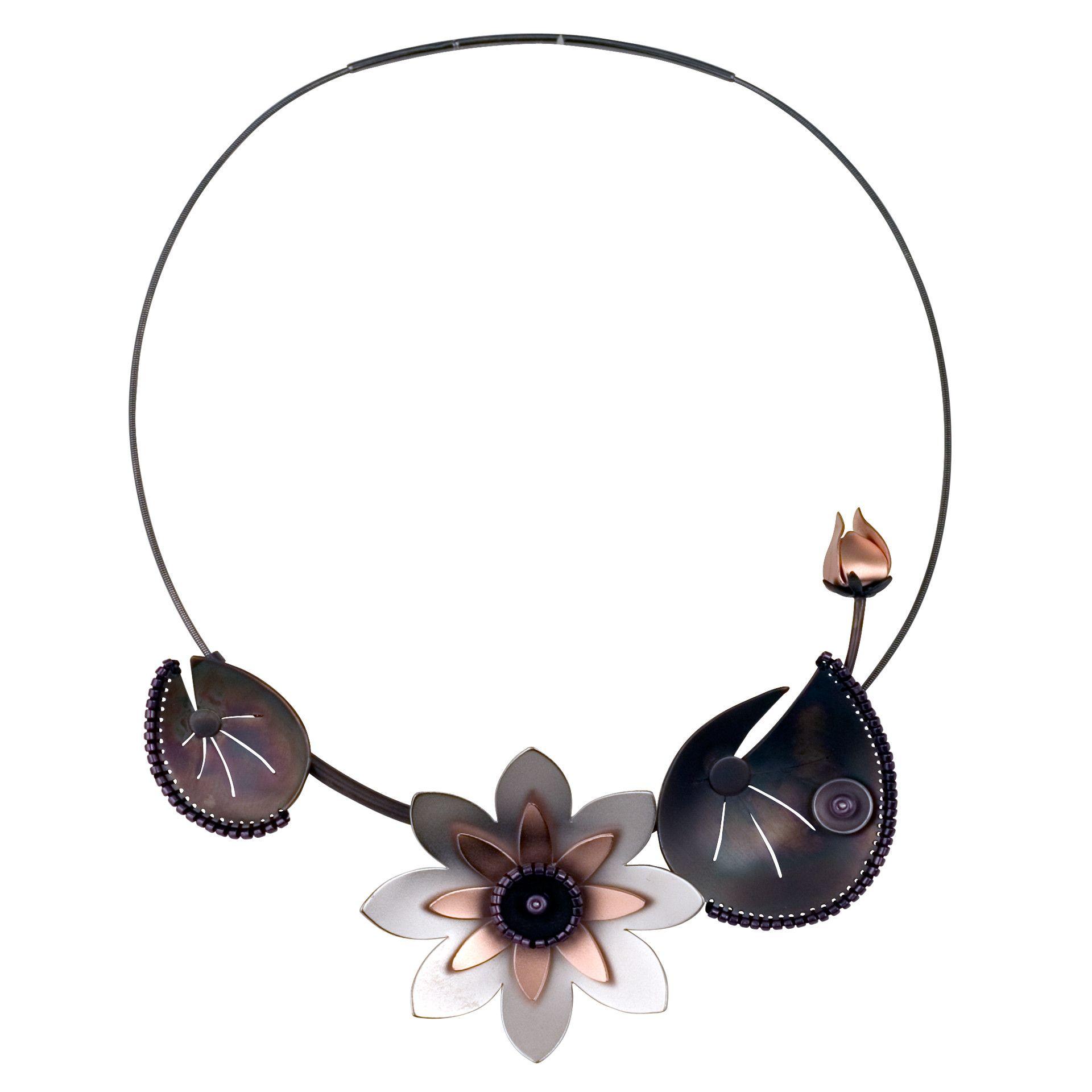 Lotus Necklace, Chihiro Makio. 314studio.com