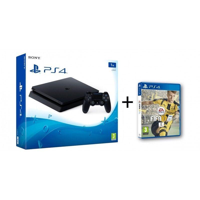Detalles De Ps4 Slim 1tb Nueva Consola Playstation 4 Fifa 17