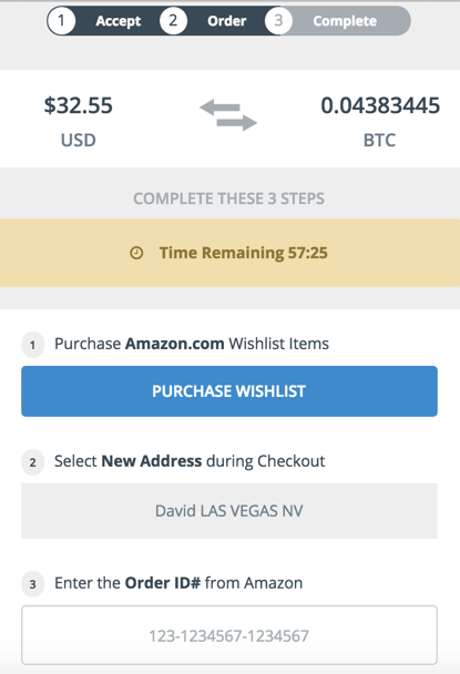 How To Trade In Amazon Gift Cards For Bitcoin Amazon Gift Cards Amazon Gifts Buy Bitcoin