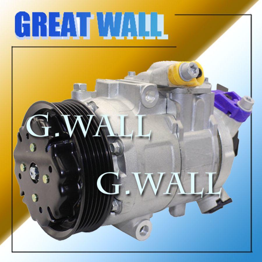 DENSO 6SEU12C Auto A/C Compressor For Car Volkswagen Polo OEM 6Q0820803D;6Q0820803G;6Q0820803H;6Q0820803J