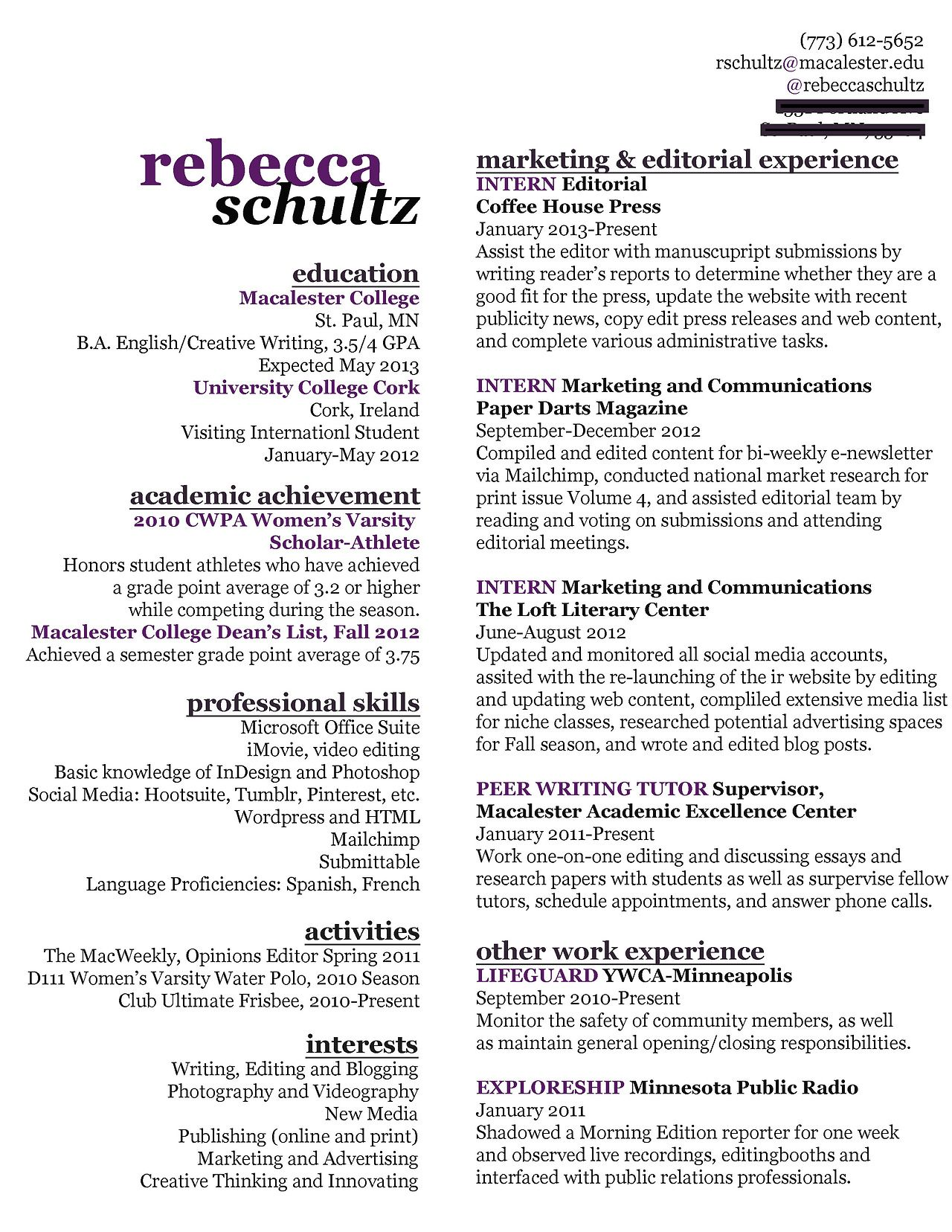 My Resume Creative Resume Writing Resume Marketing Resume
