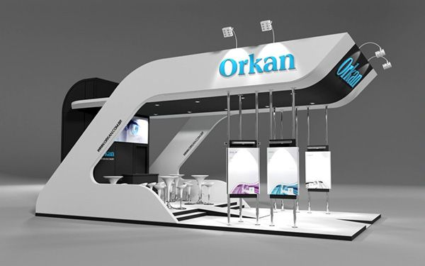 Exhibition Stand Industrial : Orkan brasil automation isa by wellington amarante via