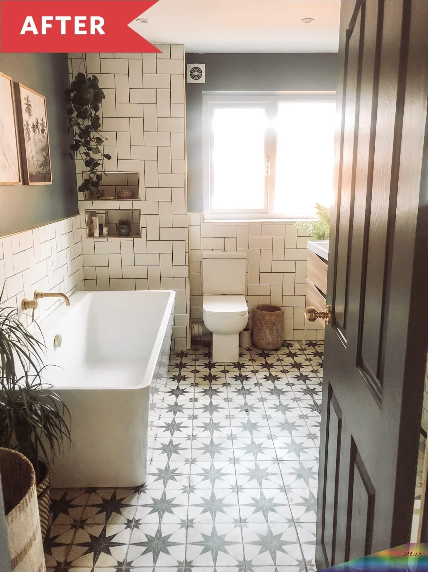 Oct 12 2019 Claire Kennedy And Her Husband Are Renovating Their Entire Uk Homea And The Bathro In 2020 Amazing Bathrooms Apartment Therapy Bathroom Renovation Cost