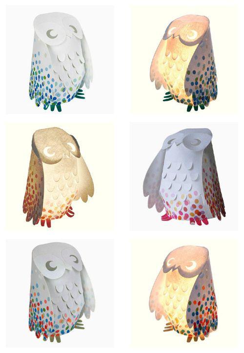 My Owl Barn: Owl Lamps