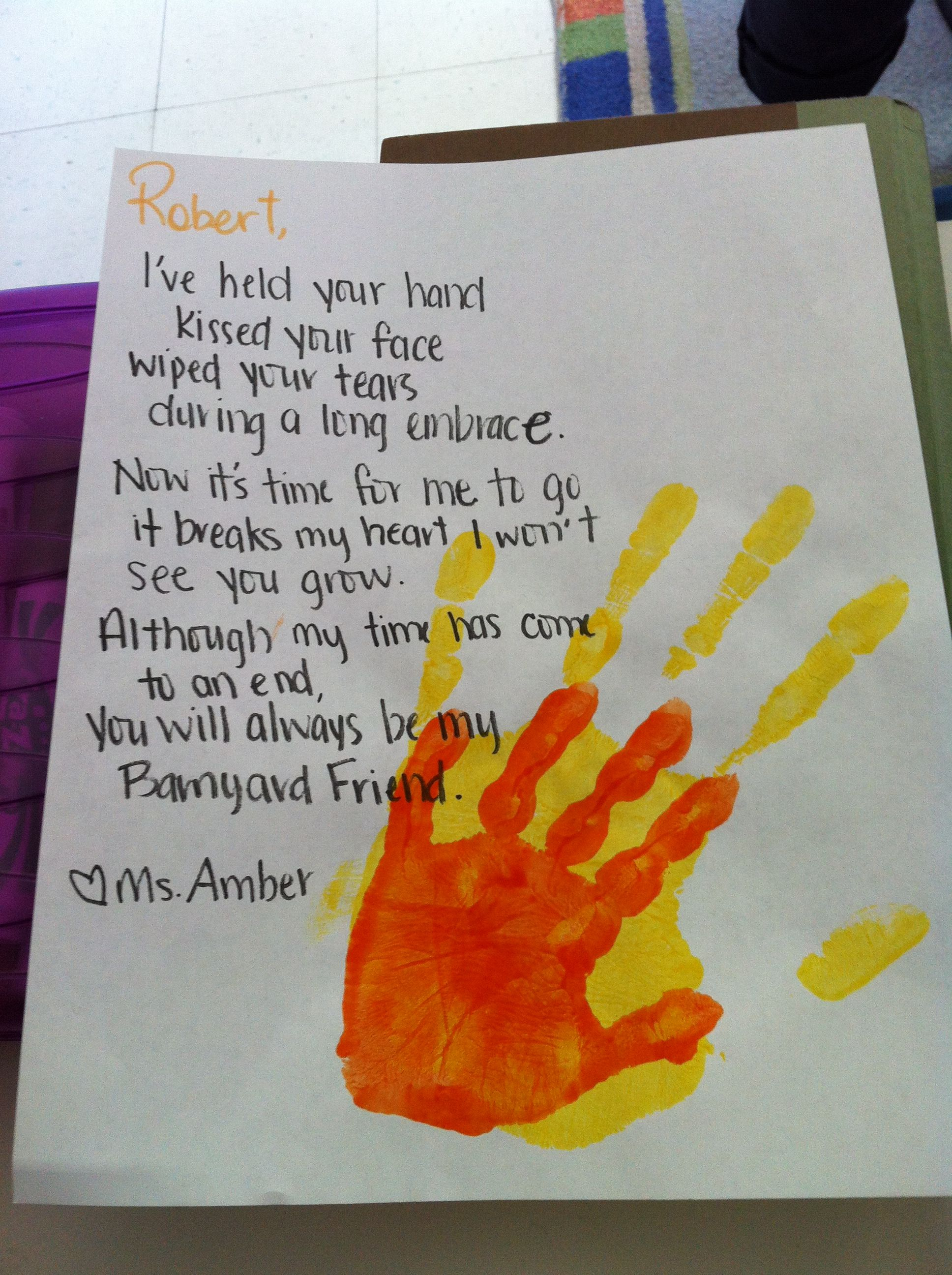 A Goodbye Poem For My Friends With Images Friend Crafts
