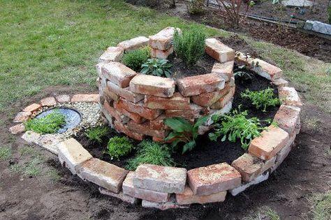 Eine Feuerstelle kann aus Beton, Metall oder Steinen gebaut werden - feuerstelle garten naturstein