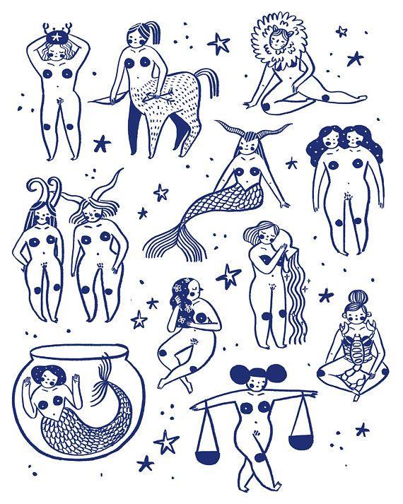 Знак зодиака рисунок