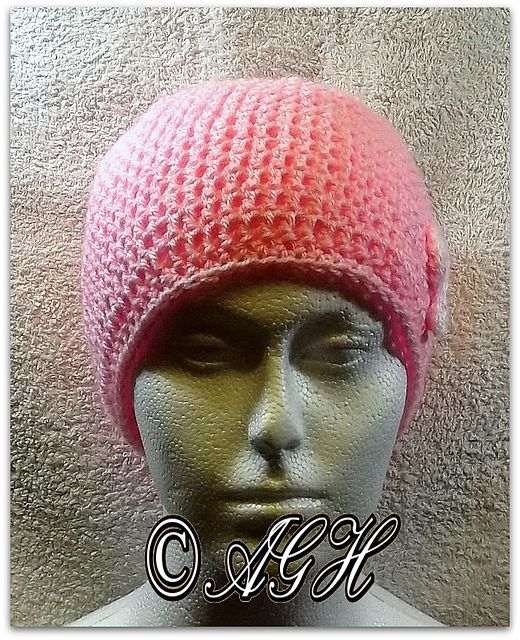Ravelry: Simple Lightweight Chemo Cap pattern by ag handmades