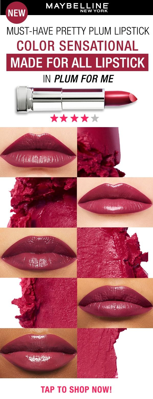 Meet Maybelline's NEW Color Sensational Made For All