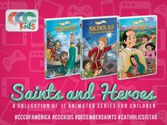 CCC of America » The Saints & Heroes Collection 11 DVDs $125 look for sale