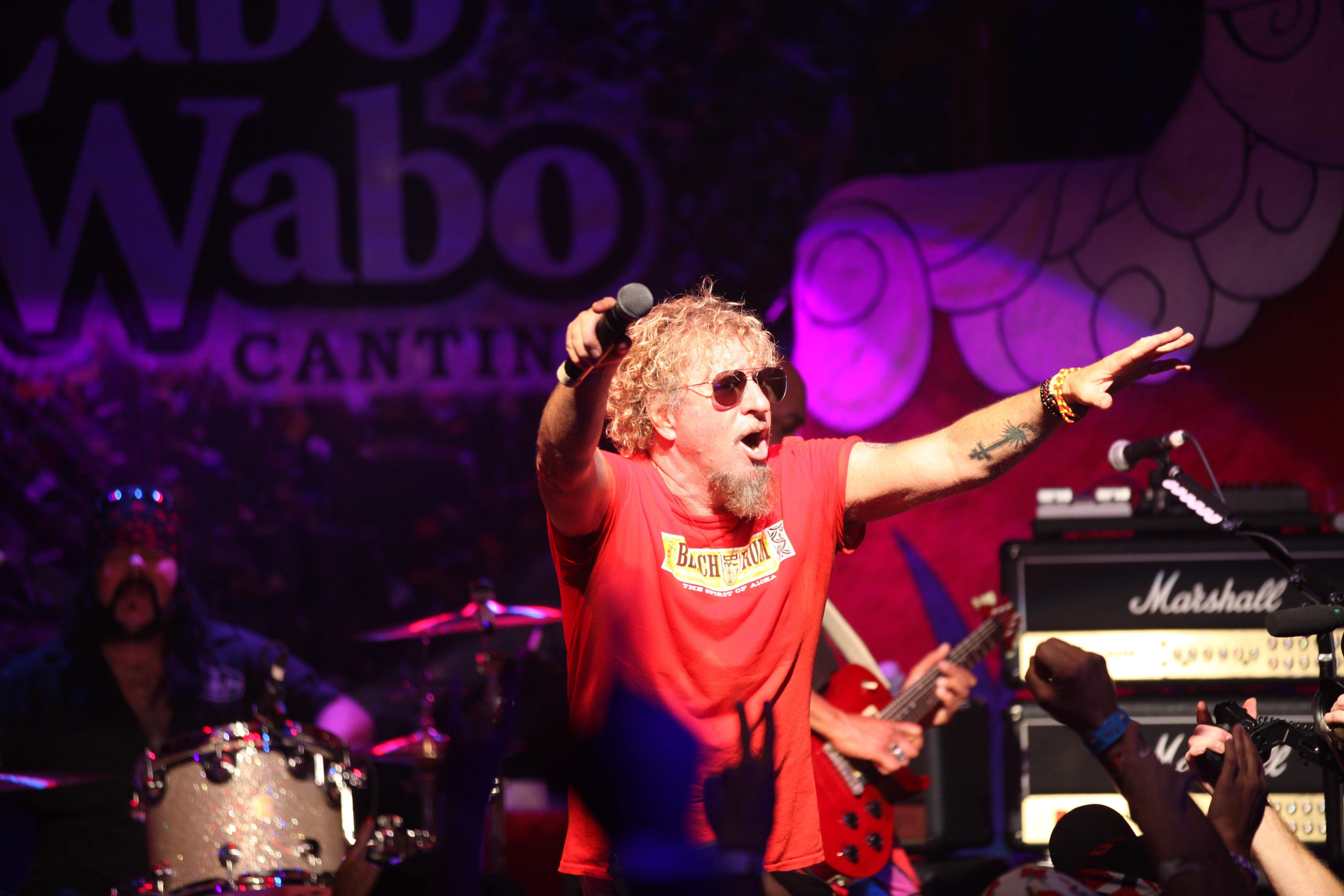 Handout Photo Of Sammy Hagar Taken At Hagar S 70th Birthday Bash In Cabo San Lucas Hagar Performs 11 14 17 At Coachman Park In Van Halen Concert Sammy Hagar