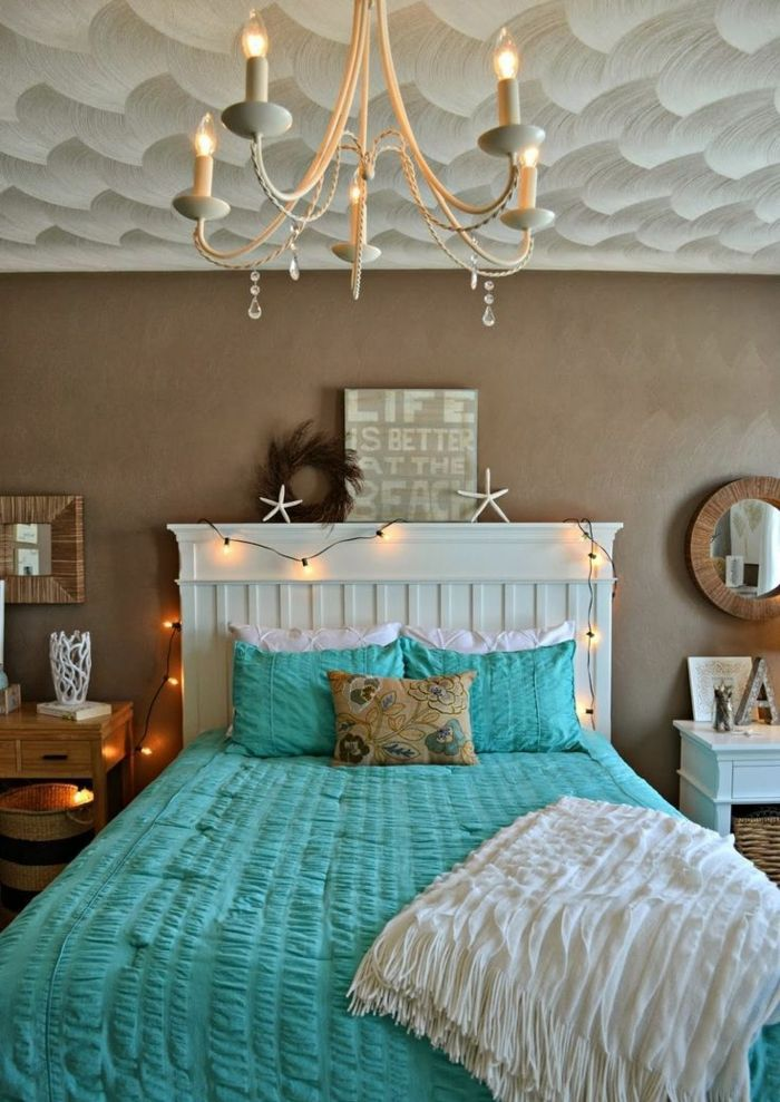 1001 designs stup fiants pour une chambre turquoise couleur chambre adulte d corations. Black Bedroom Furniture Sets. Home Design Ideas
