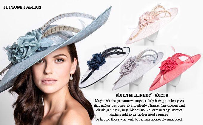 vixen millinery Furlong Fashion Vivien Sheriff Hats Royal Ascot Hats  Aintree Ladies Day 612d6389912