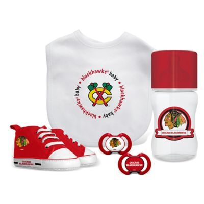 Nhl Baby Fanatic Chicago Blackhawks 5-Piece Gift Set