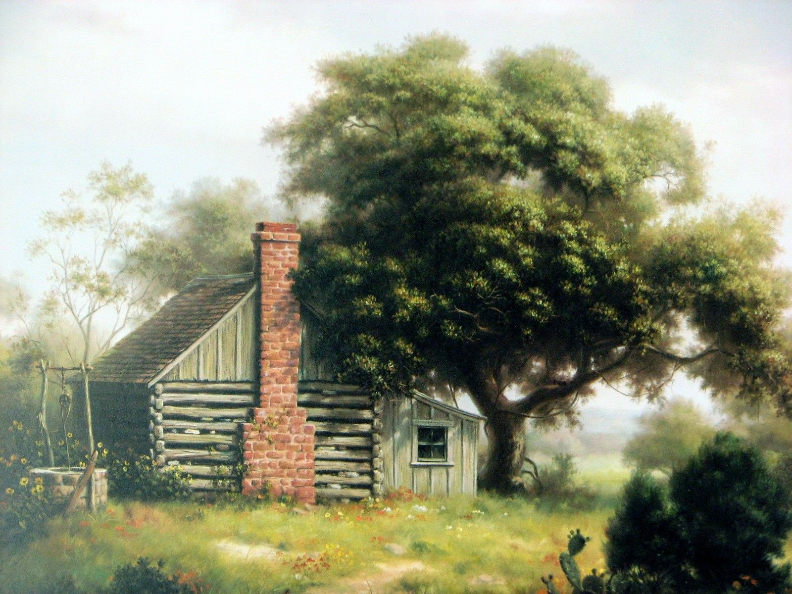 Yester Years . Landscapes Artist Dalhart Windberg Title Yesteryear C13