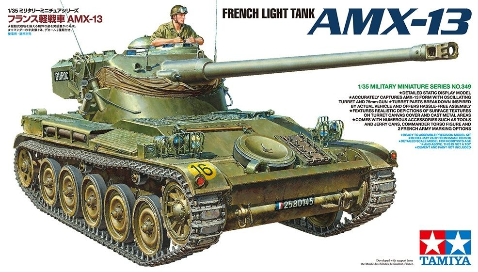 Model Tamiya 35349 French Tank AMX-13
