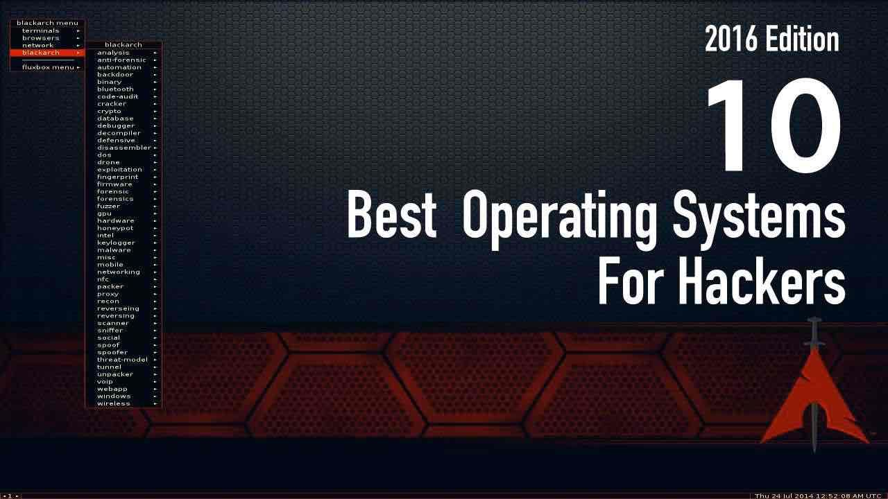 Here Is The List Of  Best Hacking Operating System Along With Their Download Links