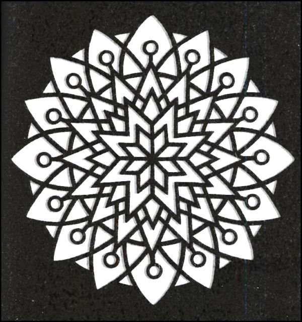 easy kaleidoscope little stained glass coloring book more to color