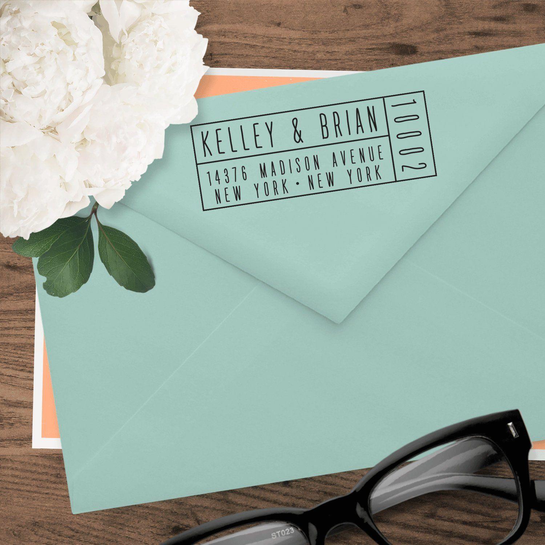 CUSTOM SELF INKING Address Stamp, Custom Address Stamp