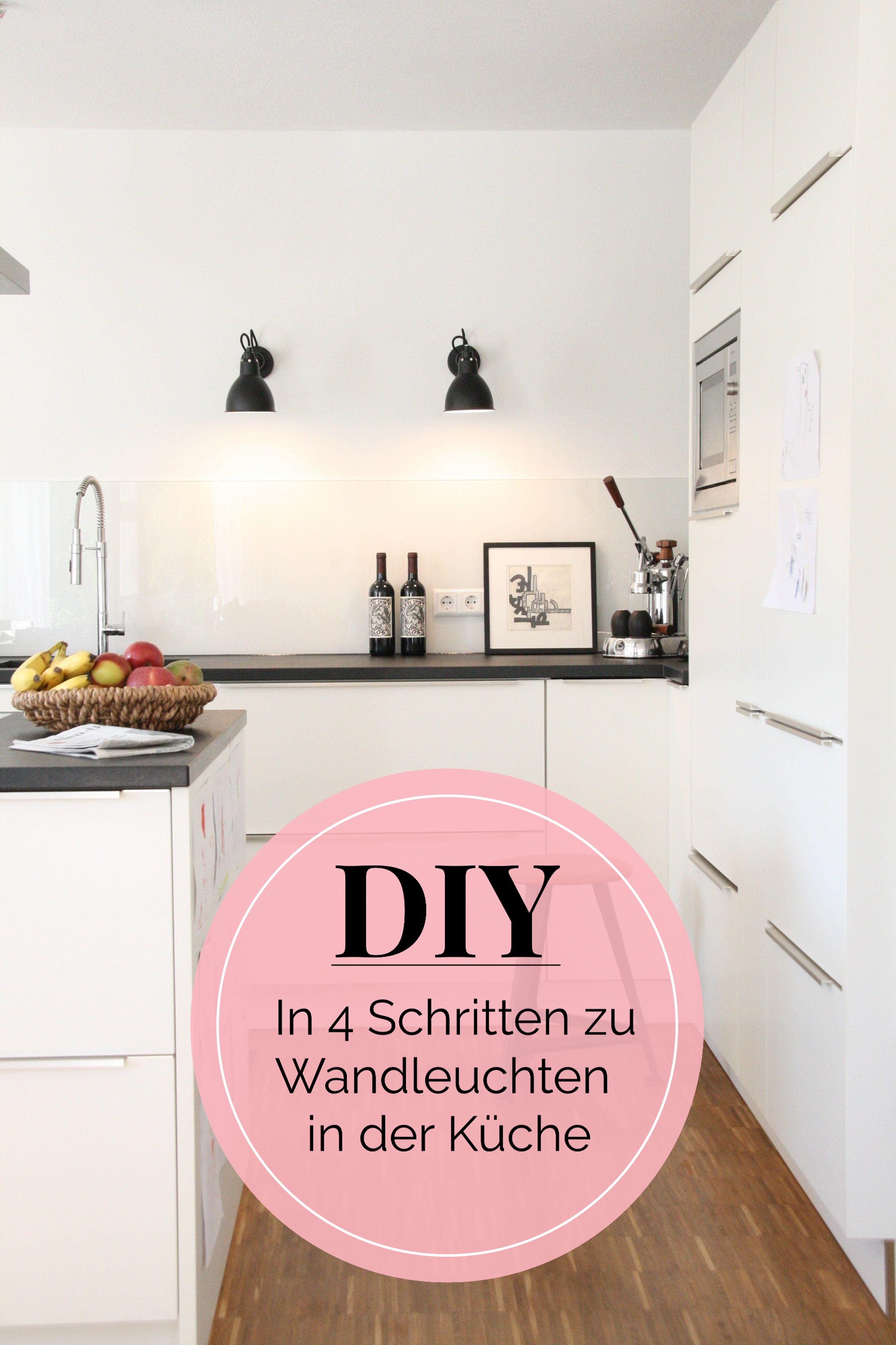 Kleines Küchen-Makeover: Neue Wandleuchten bei Lunchen | #DIY ...