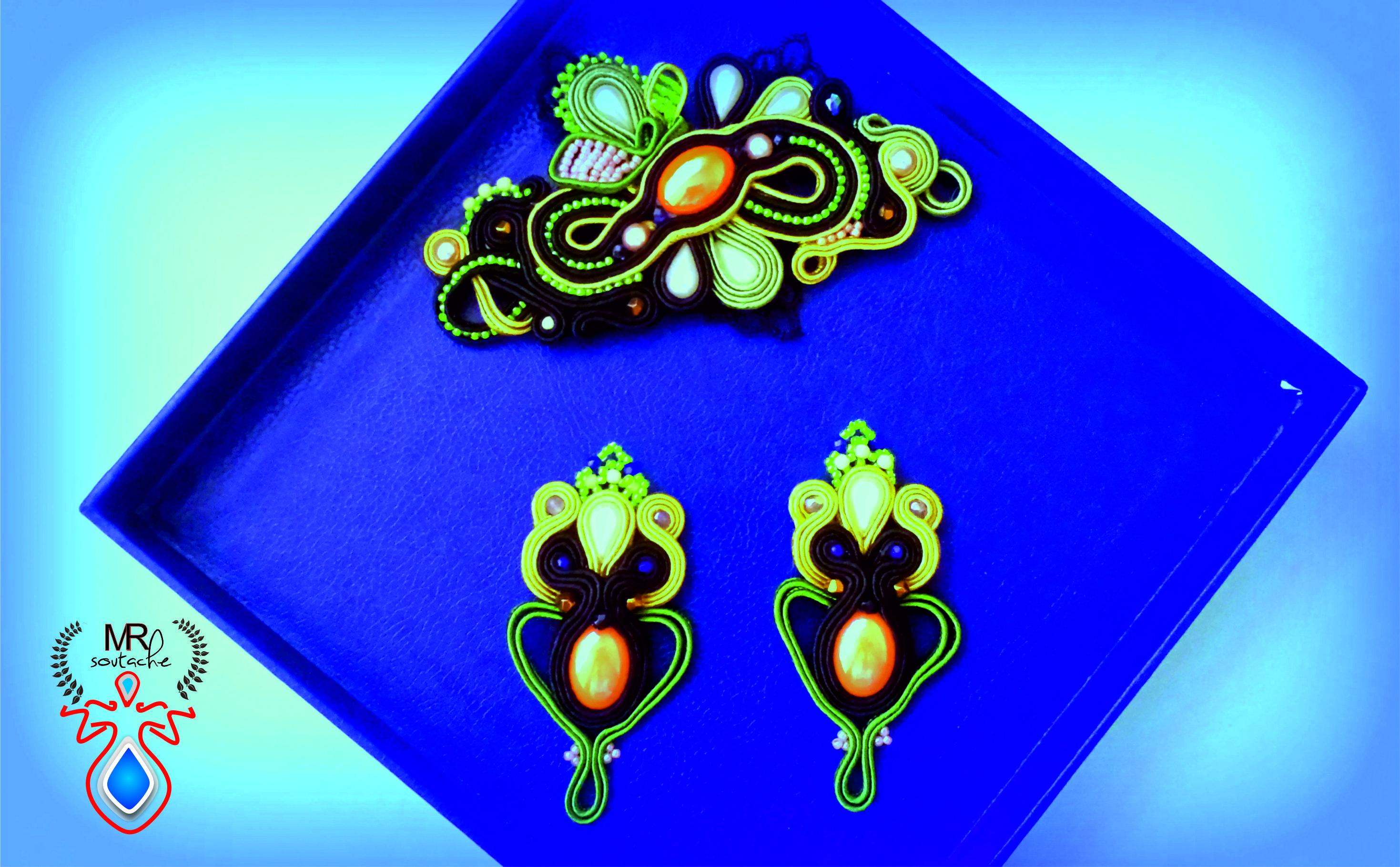 Soutache set my soutache jewelry pinterest soutache