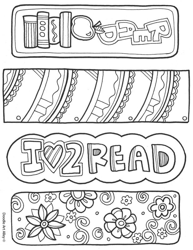 coloring pages about reading - she has sooooo many cute colouring pages from saturn to wedding to rules to bookmarks school