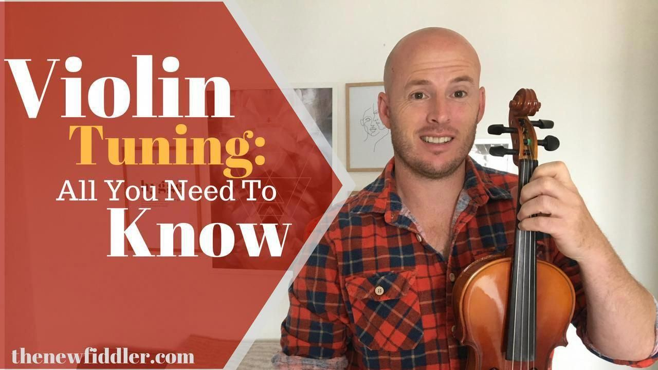A quick chat on how to tune your violin for beginners.