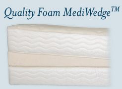 Foam Bed Wedge Full Length Mattress Reduce Acid Reflux Mediwedge
