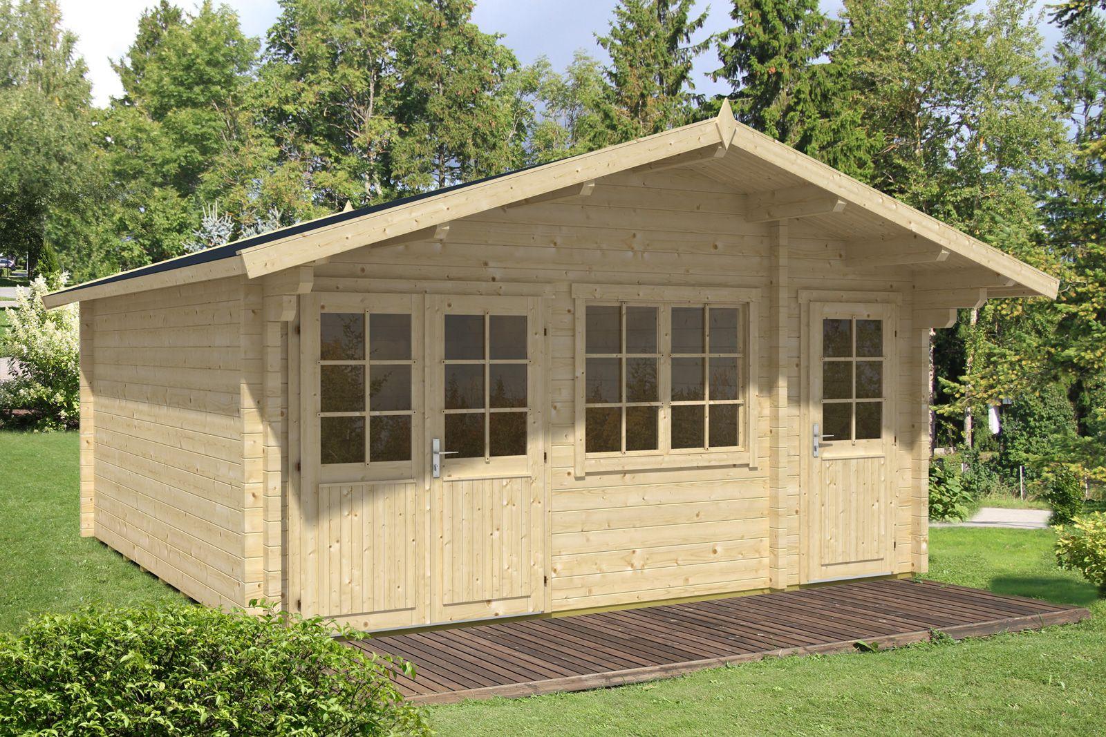 Gartenhaus Modell Nevis ISO Gartenhaus, Haus und