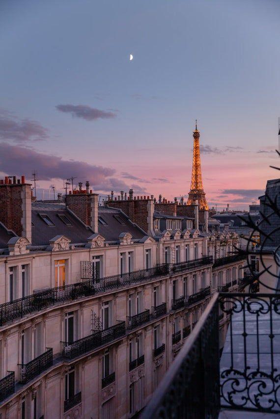 Eiffel Tower Wall Print Photograph
