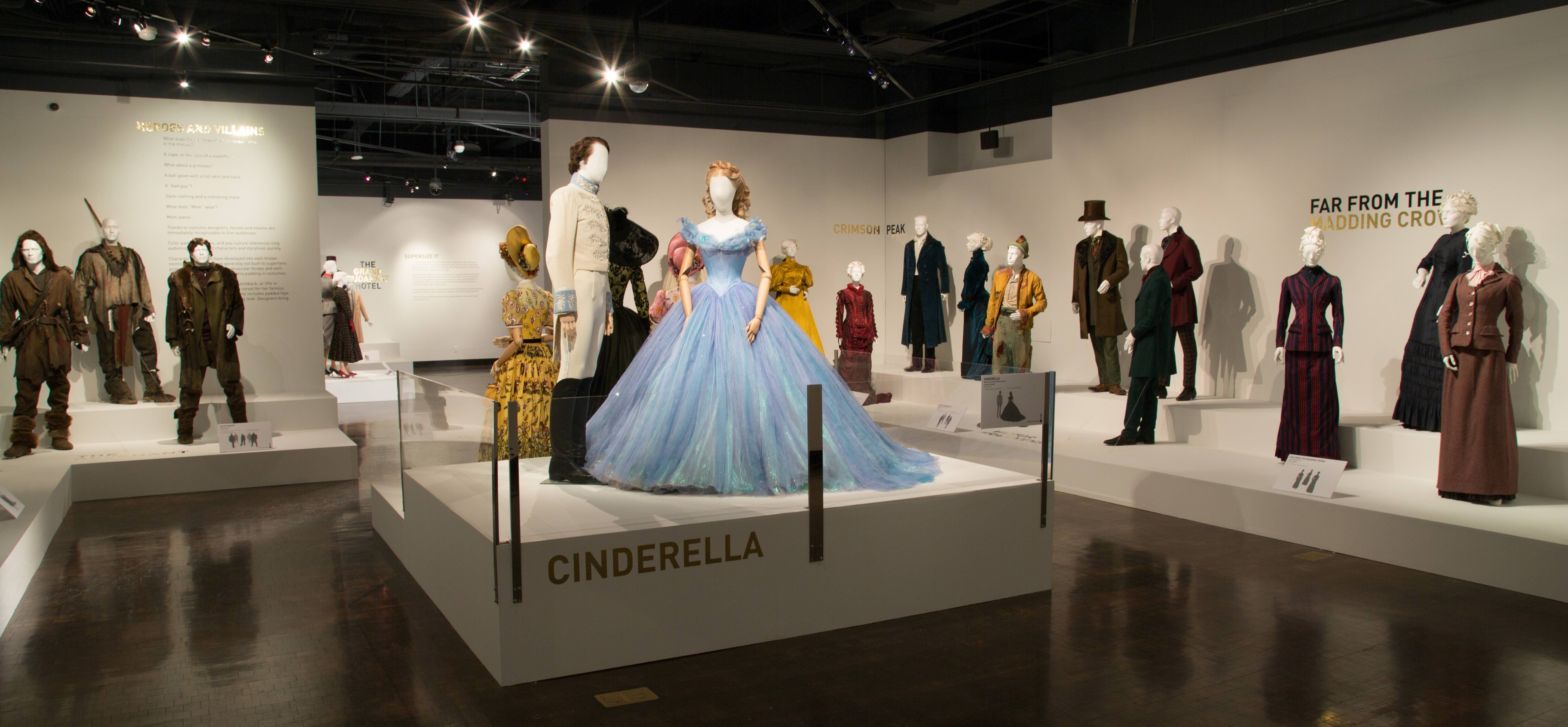 A View Of The 24th Annual Art Of Motion Picture Costume Design Exhibition Fidm Museum Fashion Institute Costume Design Technology Fashion Fashion Institute