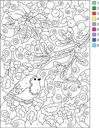 Bilderesultat for adult color by number pages