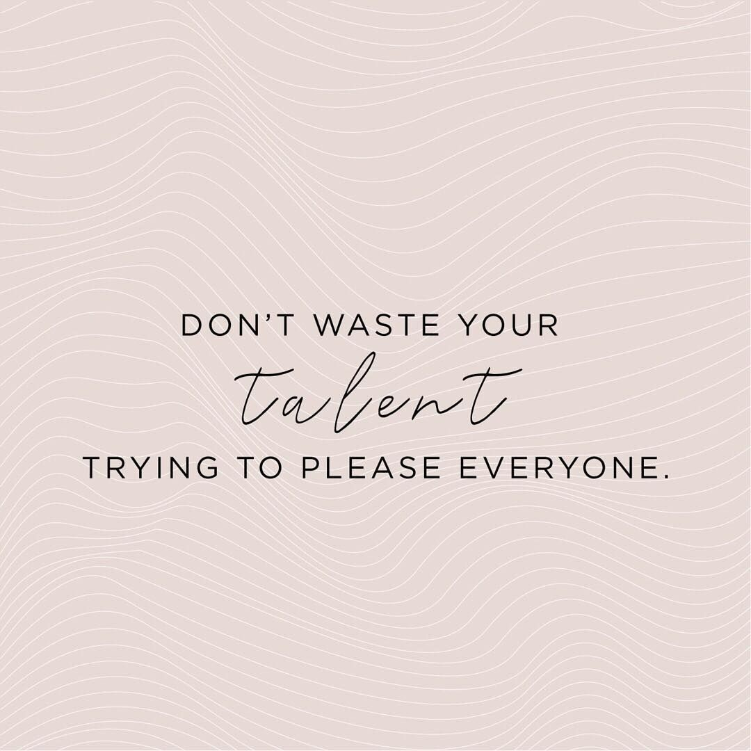 Don T Waste Your Talent Quote Standards Quotes Talent Quotes Design Quotes